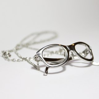 Wellington frame glasses necklace RH