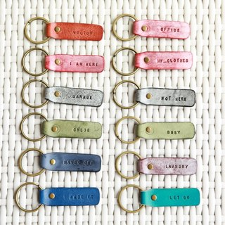 hykcwyre Minimalist Key Chain, Personalised, Simple, Event, Wedding, 3pcs pack
