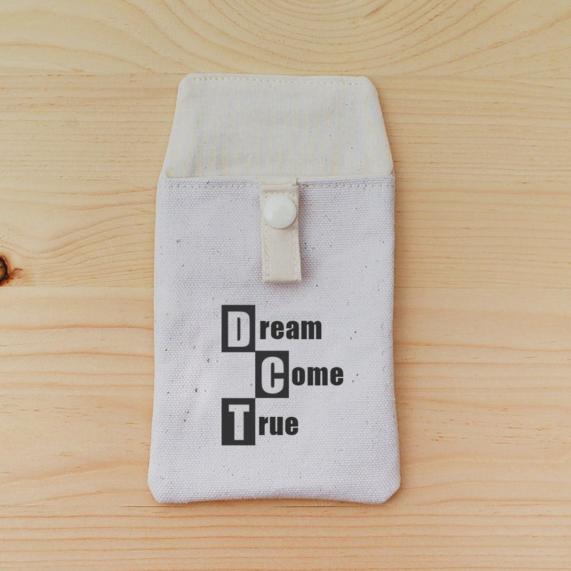 Positive energy pocket pencil case _dream come true