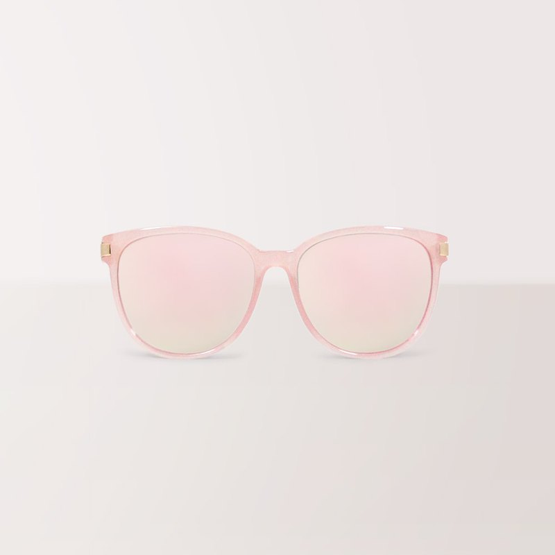 Dancing princess │Cat-Eye retro Sunglasses with pink mirror coating