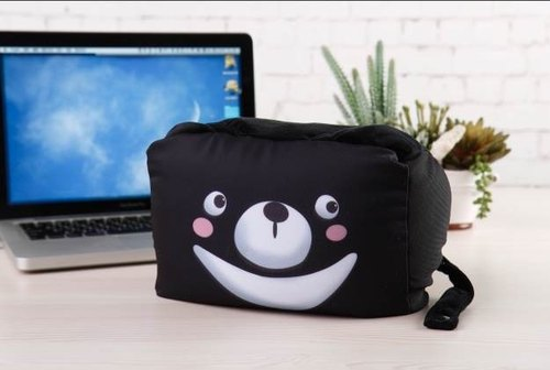 Formosan black bear multifunction pillow / Cultural & Creative / Travel Essentials