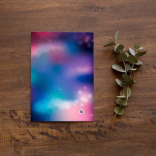 ☆ ° Rococo Strawberry WELKIN hand ° ° ☆ 2018 PDA / self-filling date calendar calendar notebook _ Healing Star purple cotton candy graduation gift