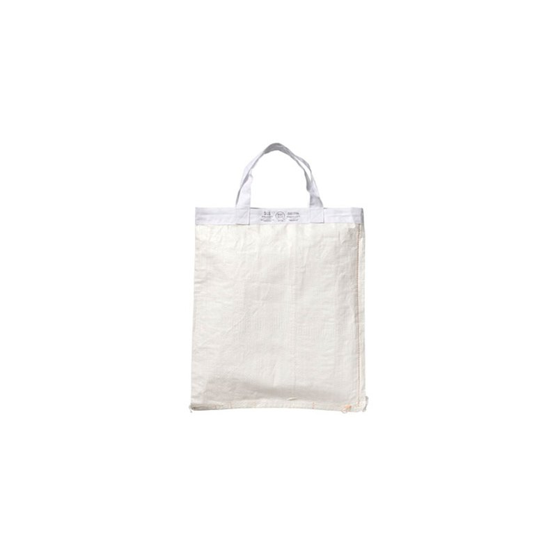 SHOPPING BAG White 42 x 39  環保購物袋42x39-白色