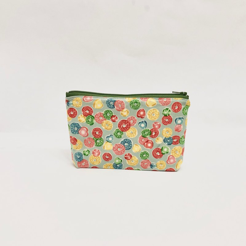 Customized Fabric Selection-Rainbow Candy Cosmetic Bag Storage Bag Gift