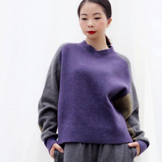 [Spot] color matching wool sweater