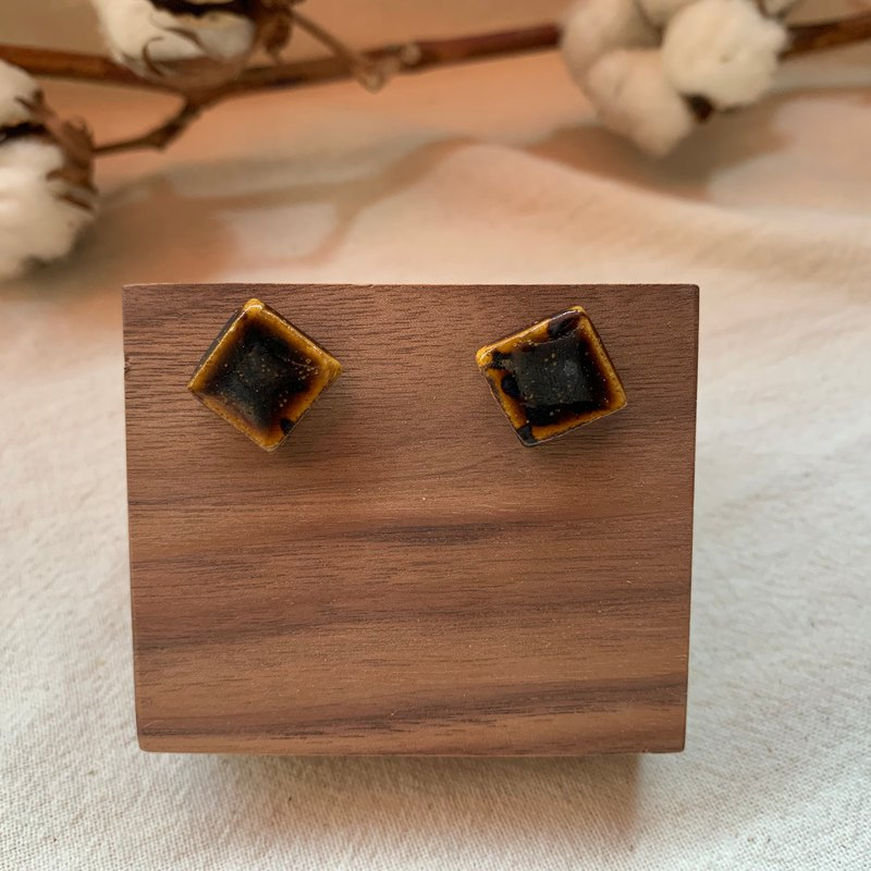 Clay Square Earrings 16
