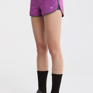 【SUPERACE】SR-PACE 2-in-1 WOMEN'S RUNNING SHORT / PURPLE