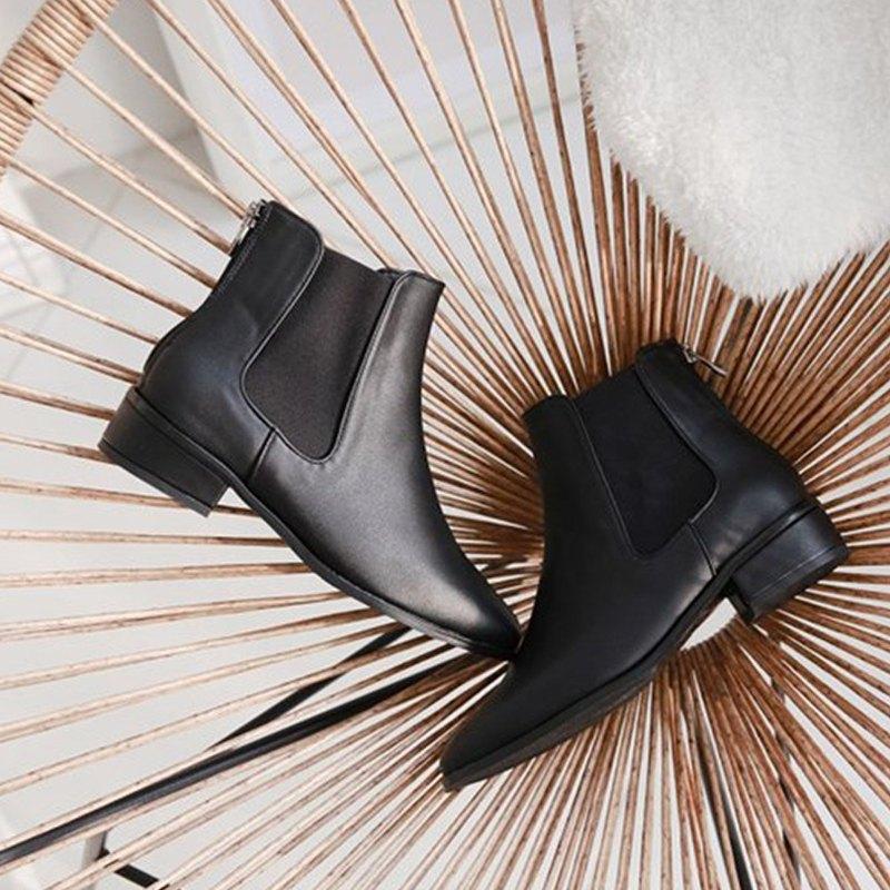 PRE-ORDER 韓國人手製 MACMOC Kalli (Black) 短靴
