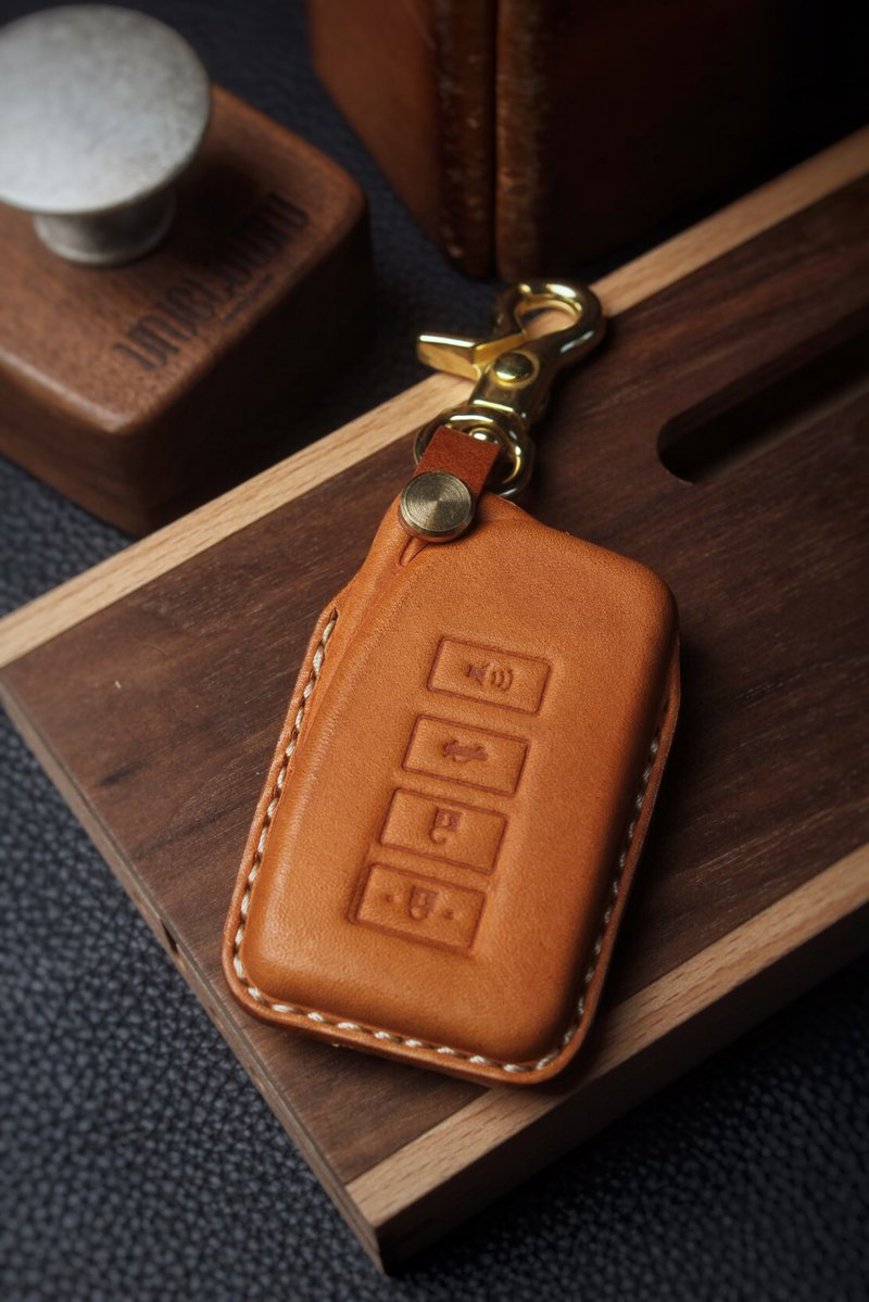 [Poseidon boutique handmade leather goods] Lexus Lexus car key holster hand-made