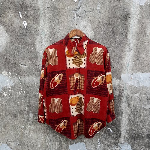 Gecko Gege - Japan - Gentleman Daily life vintage shirt