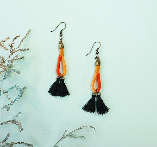 Sunny Day-tassel earrings