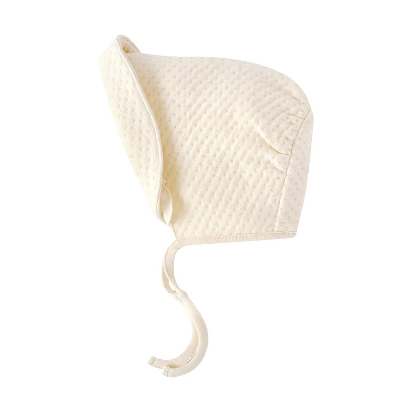 [SISSO organic cotton] Charlotte Royal Ti flower air cotton baby hat