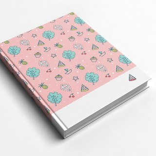 ☆ ° Rococo Strawberries WELKIN Handmade Crafts / Notebook / Hand / Diary - Summer Fruit Party