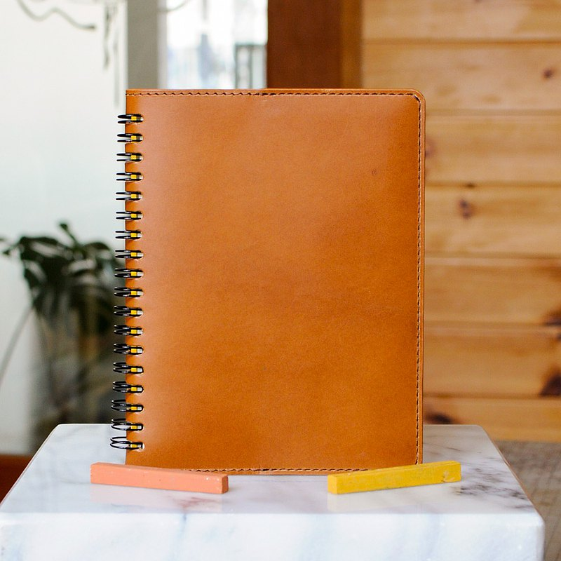Rollbahn ring notebook cover Aa L size No.1 Buttero