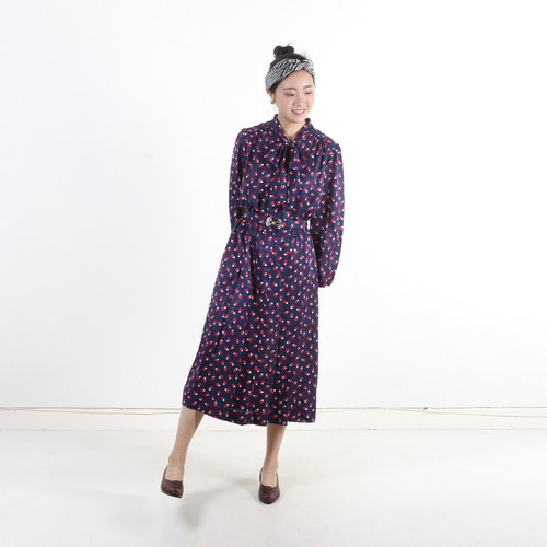 [Earth Plants] Vintage Melancholy Plum Blossom Dresses