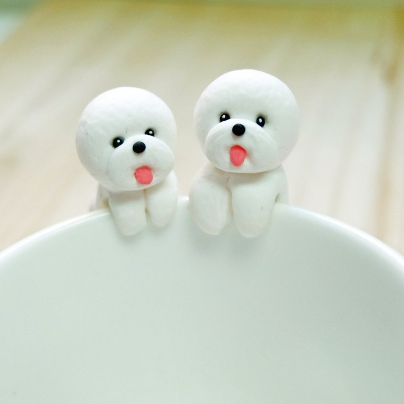 Bichon Frise Tea Bag Holder - Cutest Dog Lovers Gifts