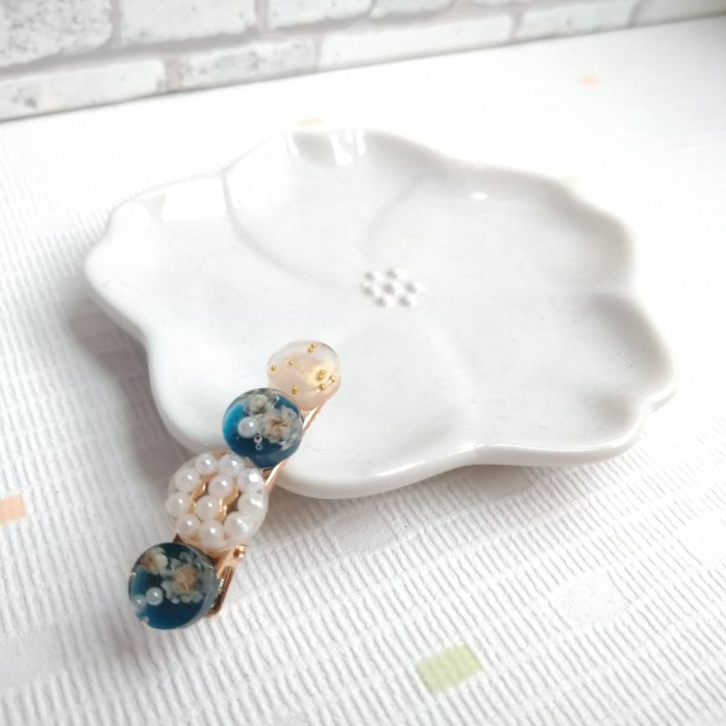 [Banhai small hairpin] Xinshadong sister (Crystal Blue)