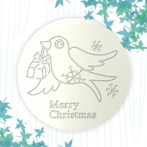 【Customized Gifts】 Christmas Christmas Gifts Ceramic Coasters ┇ Customized Ceramic Heater Cups DIY Paintings