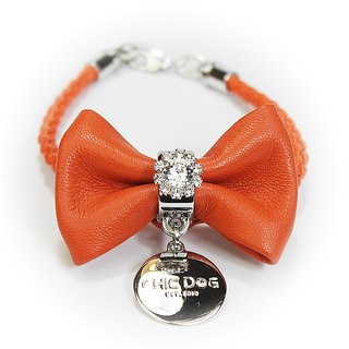 CHIC DOG Diamond flower bow