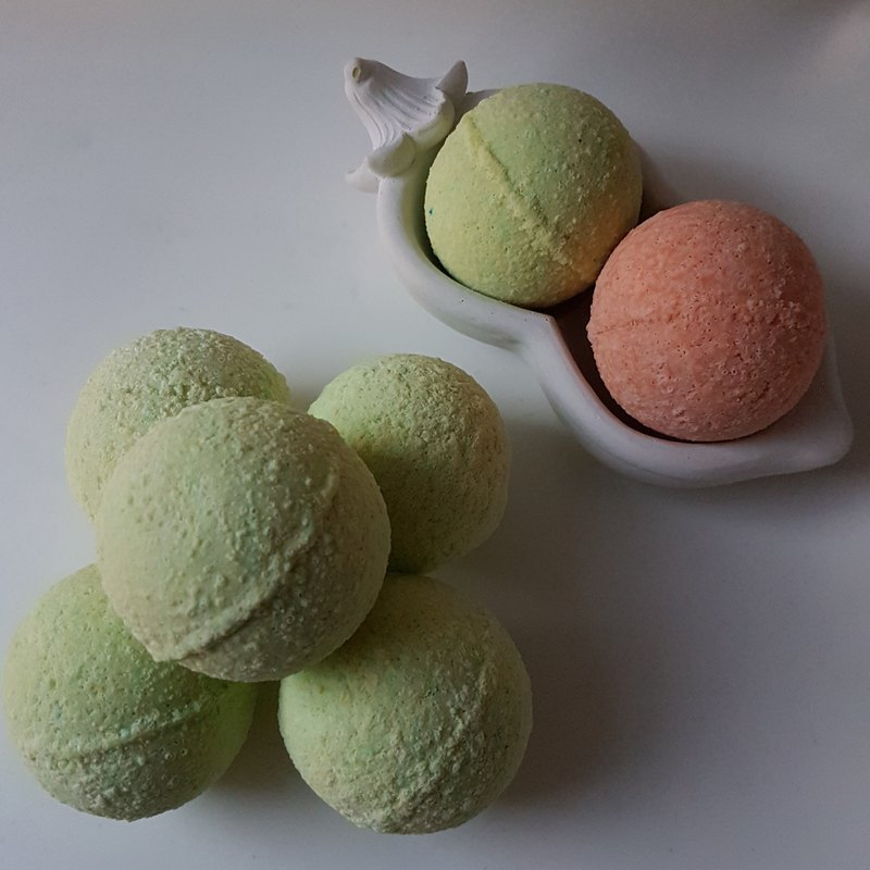 Rosemary Bath Soapy Bomb
