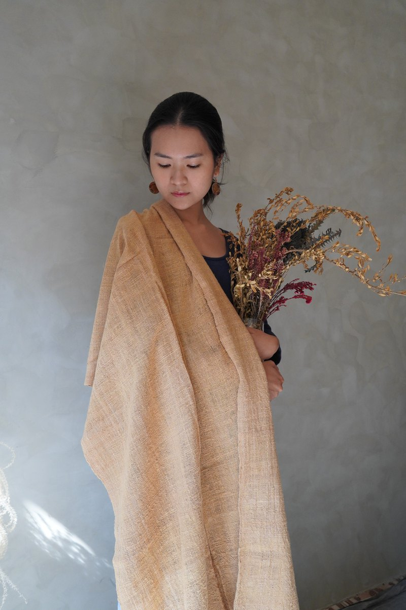 缃 / / / hand woven hand woven. Cotton multifunctional shawl