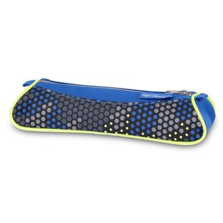 Tiger Family Explorer Simple Pencil Case (Small) - Camouflage Blue