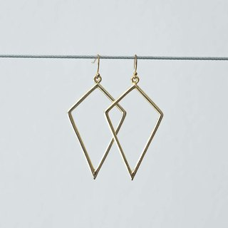 The Geometric Earrings (piercing)