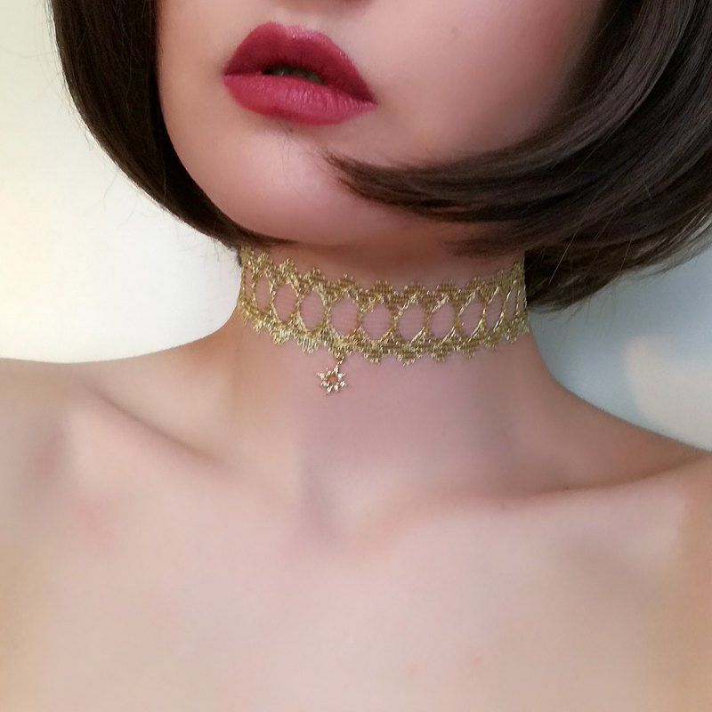 G Star Queen Choker SV 084 G