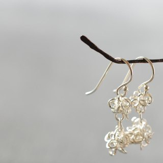 """amami"" 2star candies silver pierced earrings"