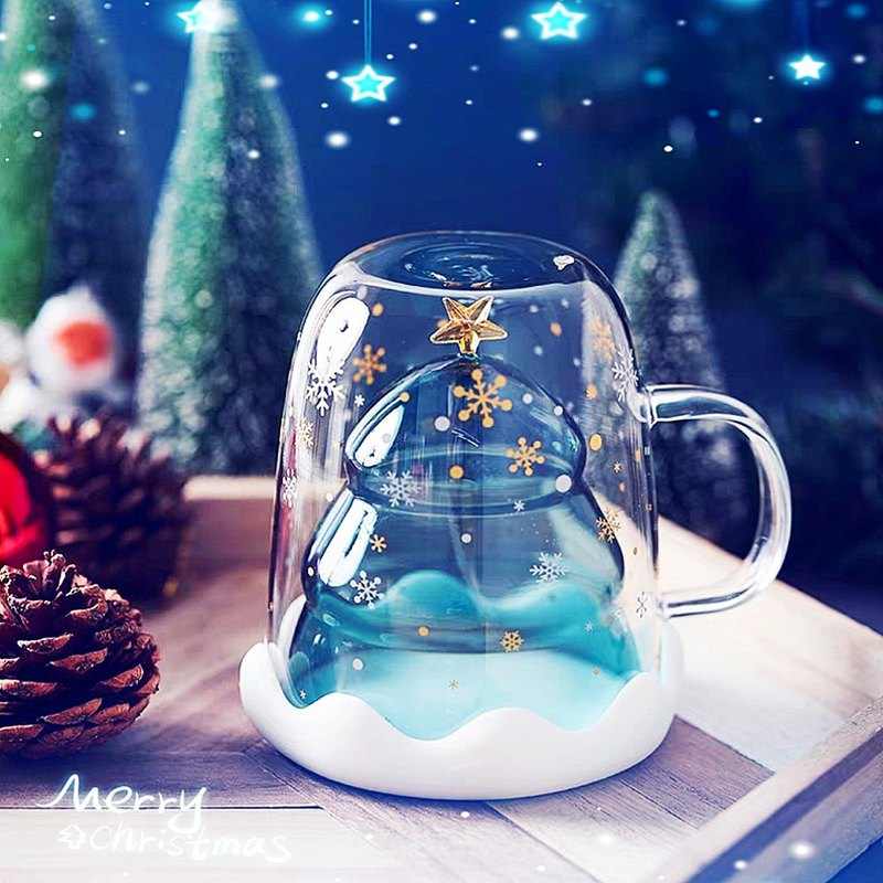 Christmas Star Wish Cup (with lid)