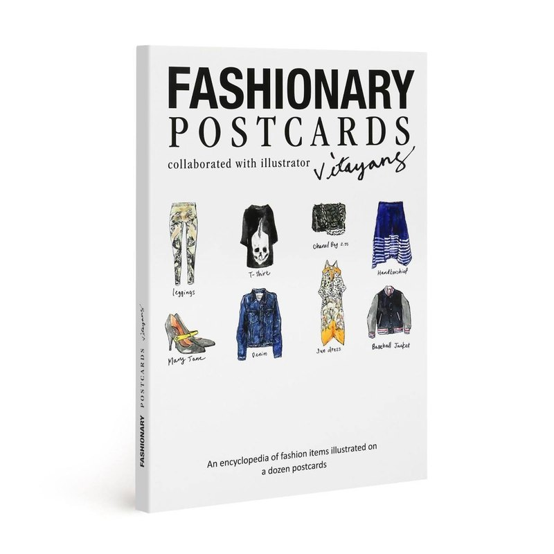 FASHIONARY- Vita Yang Postcard Set
