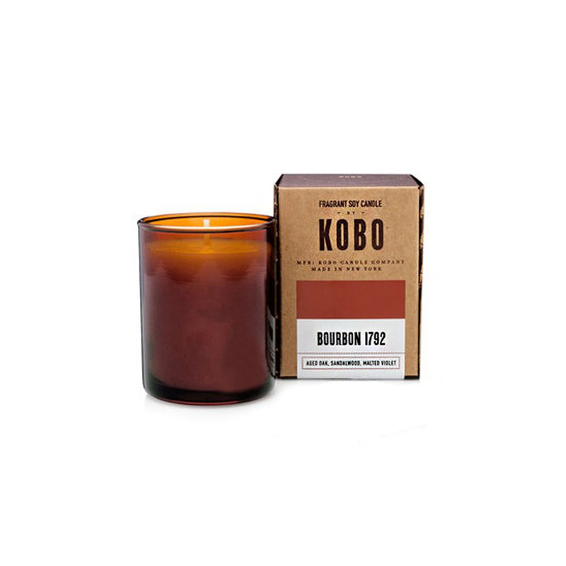 [KOBO] American Soybean Oil Candle-American Whiskey (85g / 20hr)