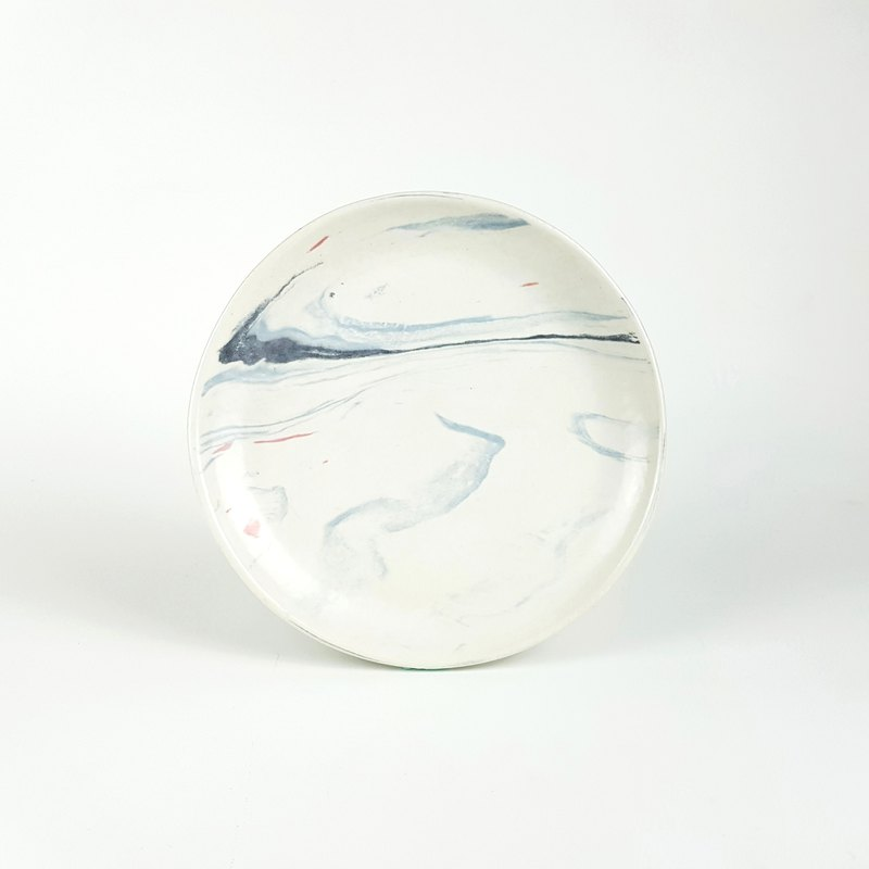 Marble Pattern Series - Cloud Dish 6