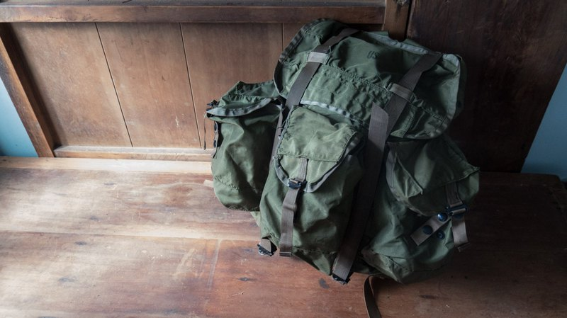 US Military Tactical Backpack Tropical Rucksack 1968