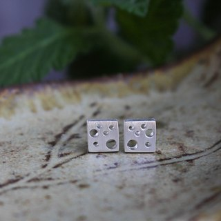 Say Cheese - Silver Earrings / Sterling Silver / Earrings / 耳環 / 銀