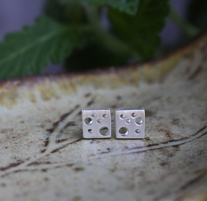 Say Cheese - Silver Earrings / Sterling Silver / Earrings