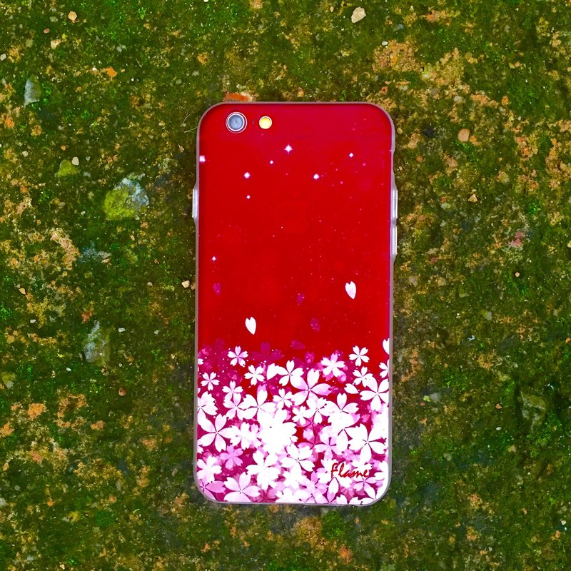 "Flame ""Sakura SODA"" Phone Case ⭐️ seasonal ⭐️"