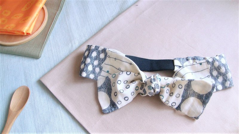 Probiotics Park l Limited edition l bow tie tied tie hair band