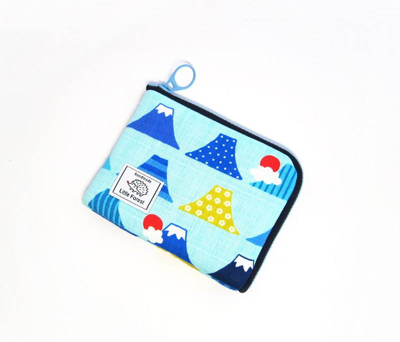 Ticket Card Coin Purse <Mount Fuji Landscape>