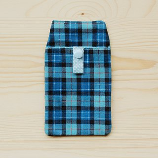 Scottish Plaid Pocket Pencil_Blue/with bag