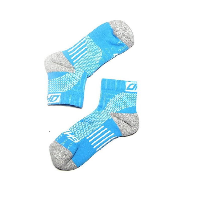 LIGHT Compression Ankle Socks 【Water Blue】