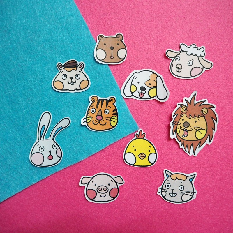 Animals Sticker Set