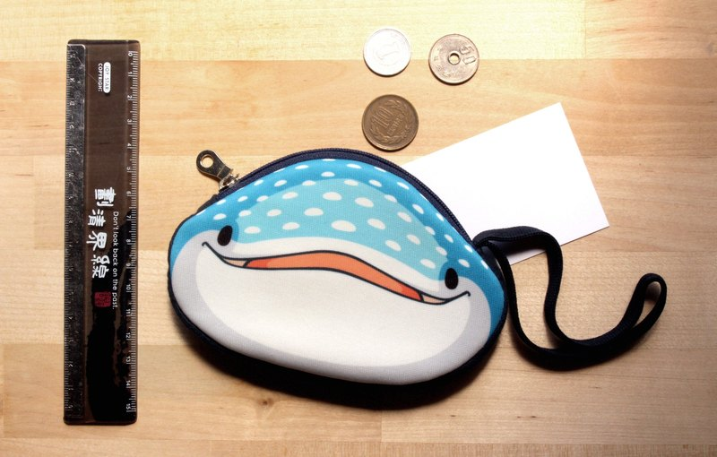 Tofu shark little spot whale shark little bit coin purse