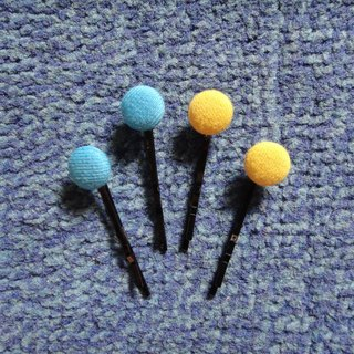 (C) _ Adventure Time cloth buttons small hairpin C20ASX28X29