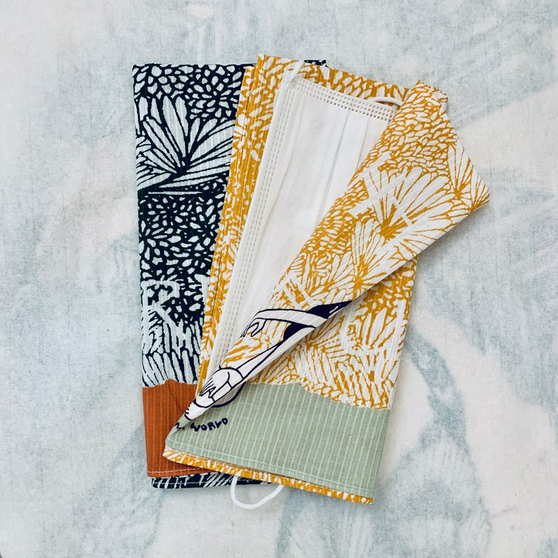 Pocket square & mask envelope (a pair/ 2pcs)
