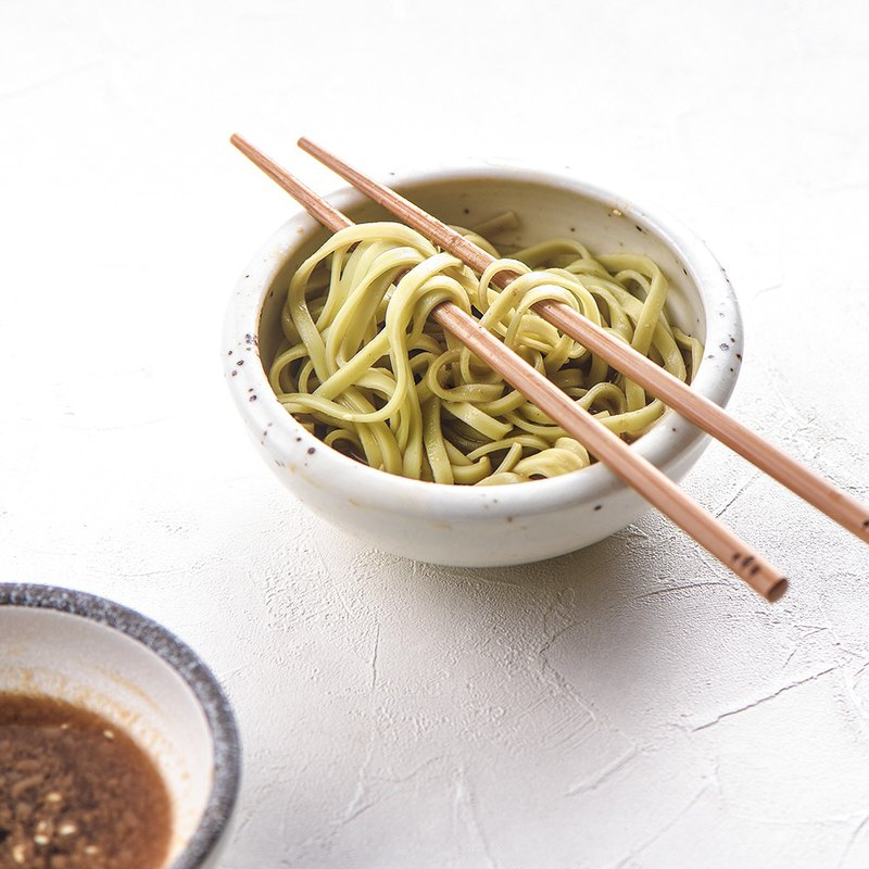 [Forest Pasta] High Mountain Green Tea Dry Noodles X and Noodles (4 Packs) Cold noodles to eat