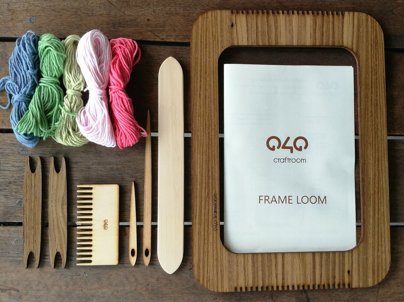 Frame M : Weaving kit