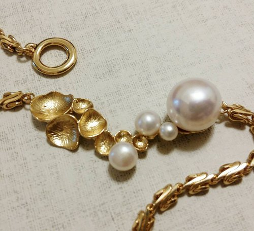 [Venus series] Limited custom single product * Natural seawater pearl necklace custom light jewelry