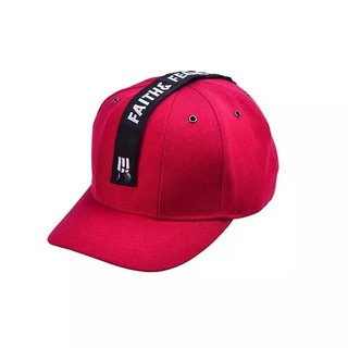 Faith & Fearless Cap_BaseBall Ruby