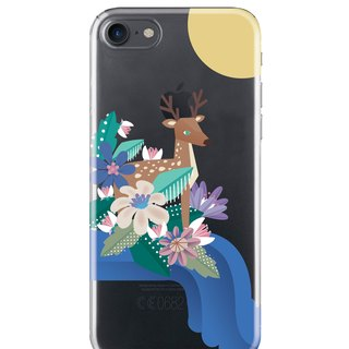 Prairie deer - Samsung S5 S6 S7 note4 note5 iPhone 5 5s 6 6s 6 plus 7 7 plus ASUS HTC m9 Sony LG G4 G5 v10 phone shell mobile phone sets shell phone cases